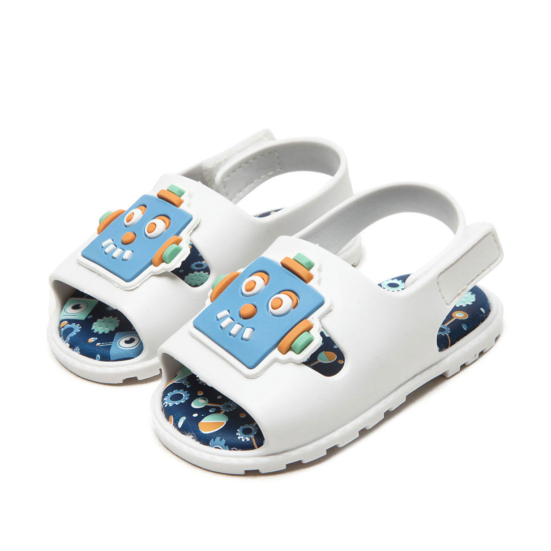Cut plastic dongguan factory baby sandal children's shoes for boys CS2078