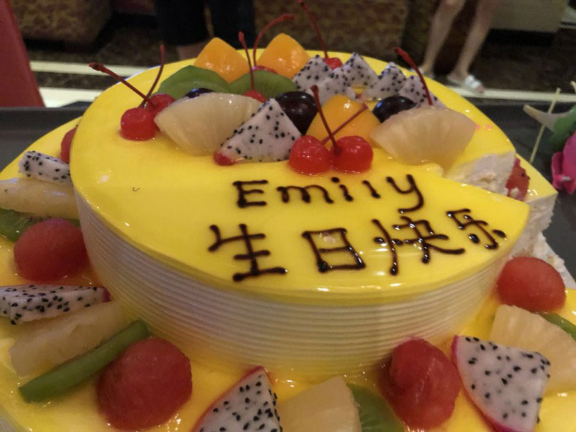 AMC Shoes Factory——Celebrate Emaily's Birthday
