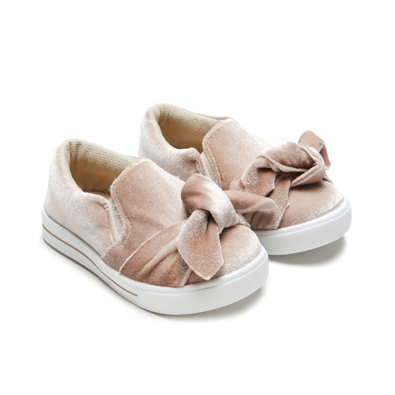 2020 Soft baby shoes fashion pink bow wholesale custom